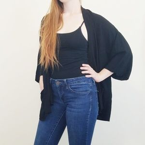 Forever 21 Black Cardigan Small